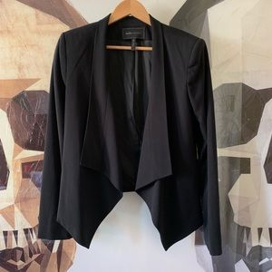 BCBG Abree relaxed jacket blazer black medium